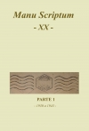 Manu Scriptum XX - Livro I - Parte 1
