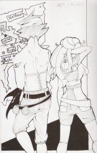 Desenho original da autora