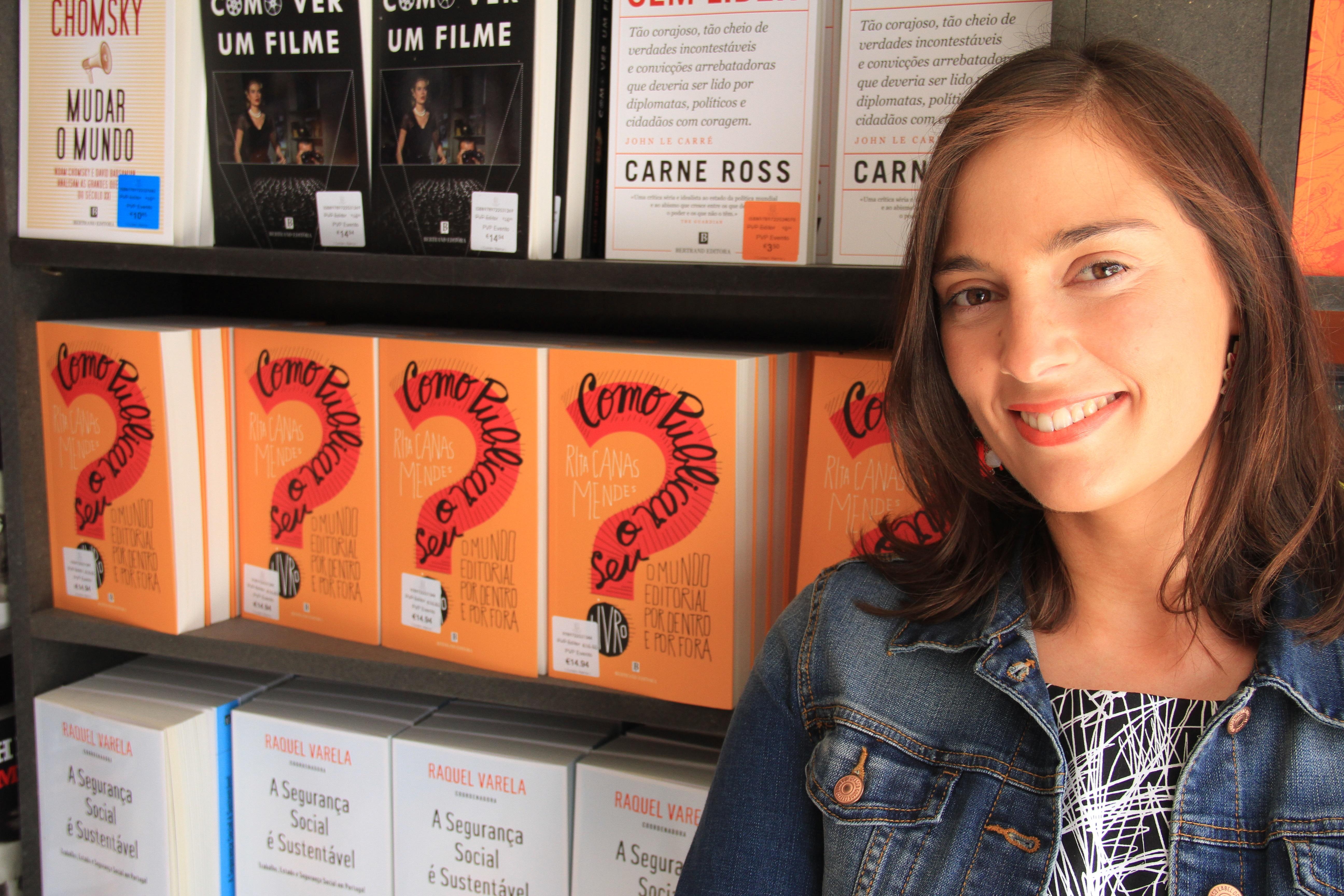 Entrevista: Rita Canas Mendes - conselhos para publicar com qualidade