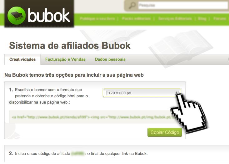 A rede de afiliados da Bubok