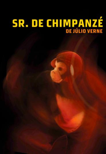 "Livro ""Sr. de Chimpanzé"" Júlio Verne"