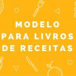 Modelos para livros de receitas
