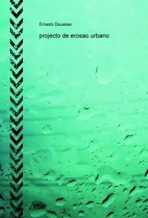 projecto de erosao urbano