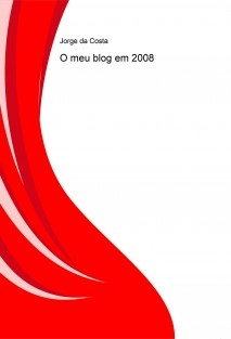 O meu blog em 2008