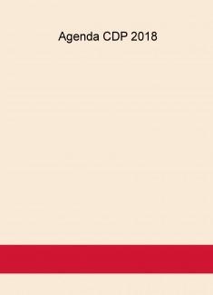 Agenda CDP 2018