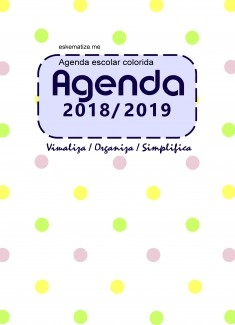 Agenda Escolar 2018/2019 colorida