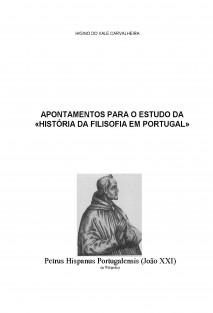 APONTAMENTOS PARA O ESTUDO DA «HISTÓRIA DA FILOSOFIA EM PORTUGAL»