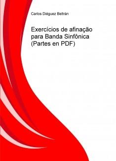 Exercícios de afinação para Banda Sinfônica (Partes en PDF)