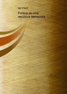 Política de uma república democrata