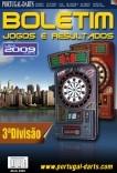 Portugal-Darts Boletim Jogos e Resultados nº1 (3ªDiv.)
