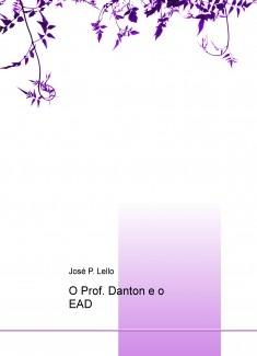 O Prof. Danton e o EAD