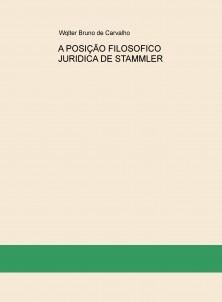 A POSIÇÃO FILOSOFICO JURIDICA DE STAMMLER