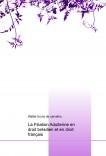La Filiation Adulterine en droit brésilien et en droit français