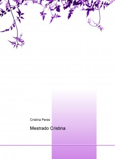 Mestrado Cristina