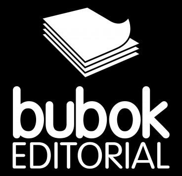 Logo da editora em negativo